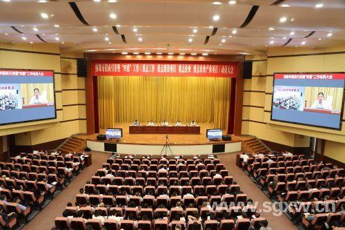 南雄市贯彻新发展理念推动高质量发展浈凌大地招商引资涌春潮